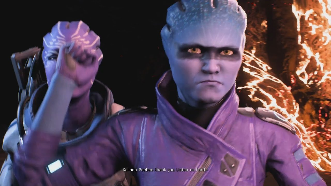 Image result for mass effect andromeda peebee