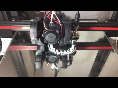 Anycubic Delta Kossel Plus with klipper firmware - Raspberry PI case