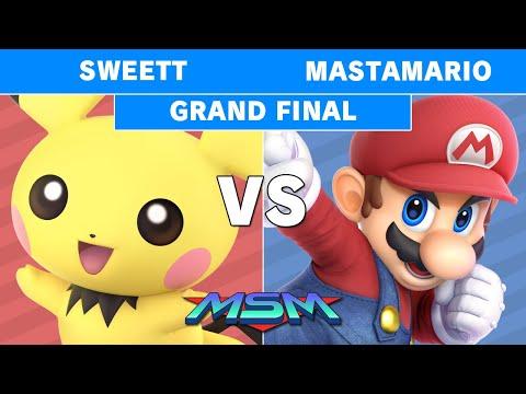 MSM 189 - CG | SweetT (Pichu) Vs POW | Mastamario (Mario) Grand Finals - Smash Ultimate
