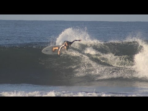 Holly Beck Surfing in Northern Nicaragua Feb 2018
