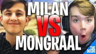 Secret Mongraal 1 VS 1 Secret Milan | Fortnite Highlights