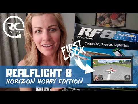 RealFlight 8 Horizon Hobby Edition  |  FIRST LOOK & GAMEPLAY