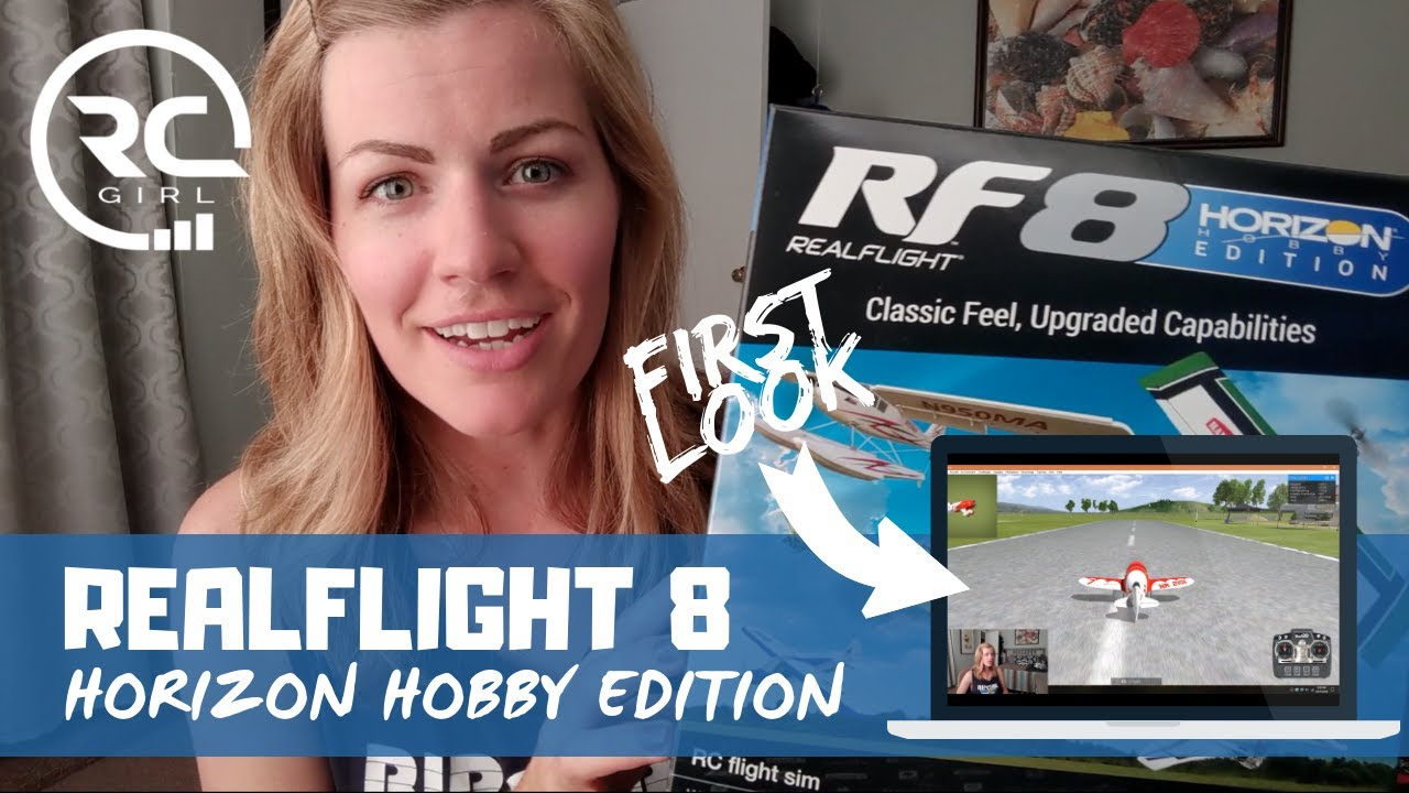 RealFlight 8 Horizon Hobby Edition | FIRST LOOK & GAMEPLAY