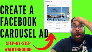 Facebook Carousel Ads - How To Create Facebook Carousel Ads Tutorial (New Ads Manager 2020/2021) screenshot 3