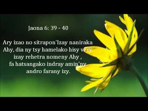 Fihirana ffpm 412 Jehovah Tompo ô