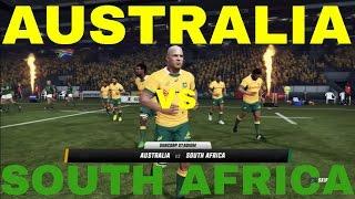 Rugby Challenge 3 Australia vs Springboks Suncorp Stadium