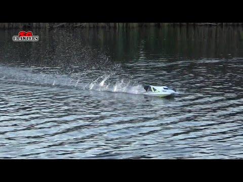 H-King Marine Hydrotek F1 Tunnel Hull Racing Boat ARR first run at Sengkang Pond