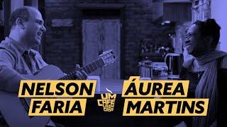 Um café lá em casa com Áurea Martins e Nelson Faria