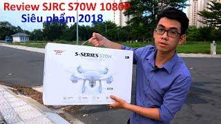 Flycam SJRC S70W - Mở hộp, Hướng dẫn và test thử các tính năng