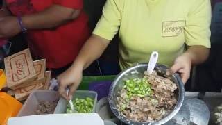 Crispy Sisig - Street Food -Manila , Philippines