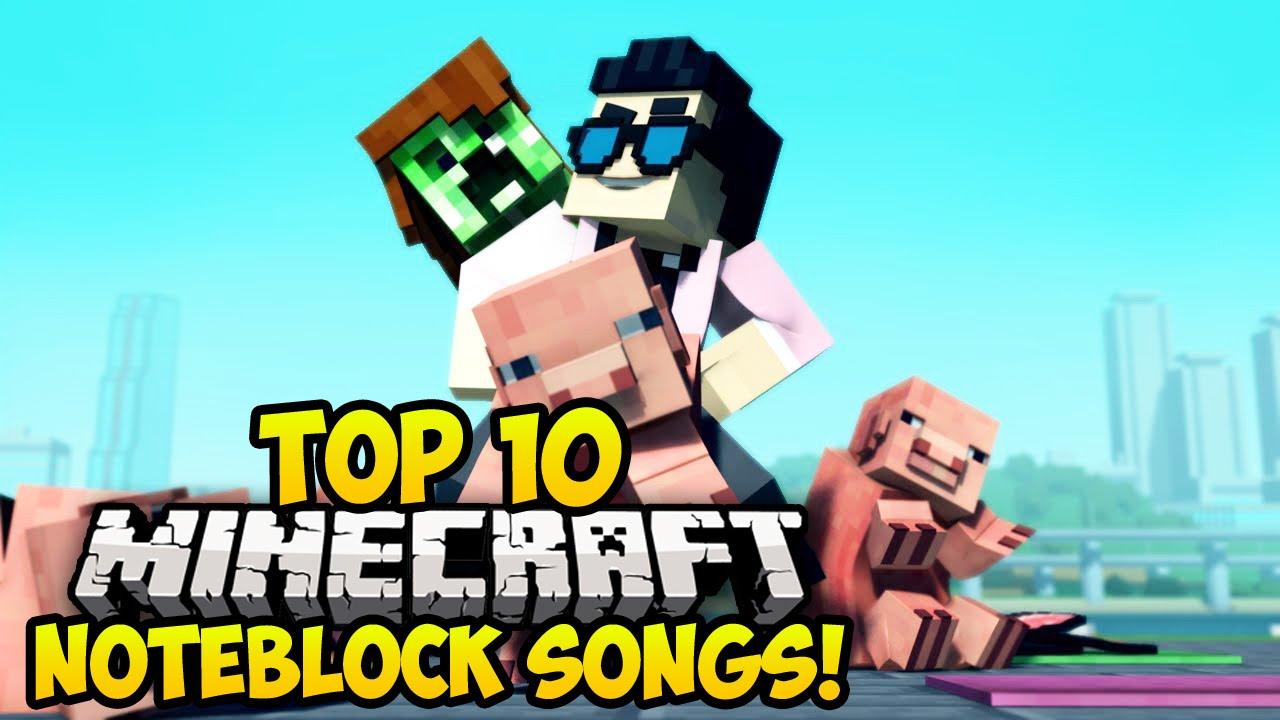 TOP 11 MINECRAFT NOTE BLOCK SONGS OF 11! (Minecraft Music Video) (Best  Minecraft Songs)