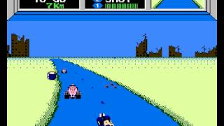 Mach Rider Walkthrough/Gameplay NES HD 1080p