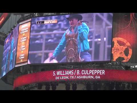 Speed Williams Brad Culpepper 2nd Steer 2013 Houston Rodeo