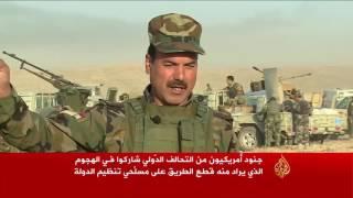 البشمركة تحاصر تنظيم الدولة في بعشيقة