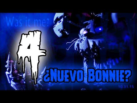 New Teaser De Five Nights At Freddy's 4 - ¿Nuevo Bonnie? | FNAF 4