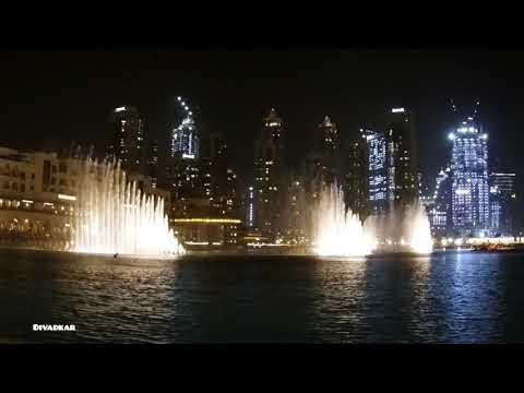 THE DUBAI MALL | BURJ KHALIFA CHINESE NEW YEAR SPECIAL LIGHT SHOW & FOUNTAIN SHOW
