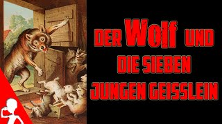 The Wolf And The Seven Young Goats | German Fairytales In German | Get Germanized