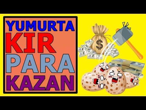 Yumurta Kır 50 TL Kazan - MAKE MONEY EGG GÜNLÜK 10 DOLAR KAZAN
