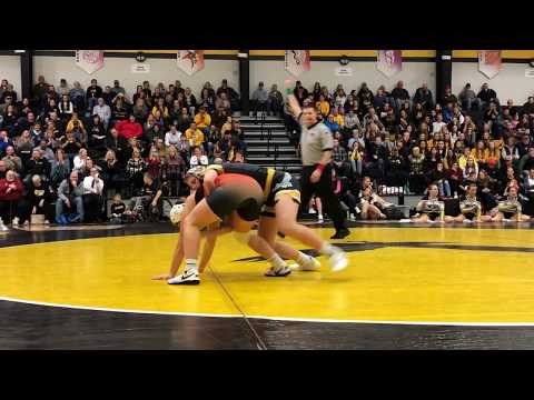 Debut of girls wrestling: W-SR vs. Charles City (Dec. 6, 2018)