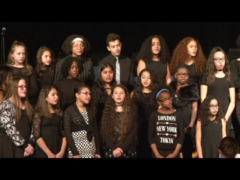 Monhagen Middle School 6th Grade Winter Concert