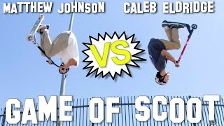 Caleb Eldridge vs Matthew Johnson - Game of S.C.O.O.T │ The Vault Pro Scooters