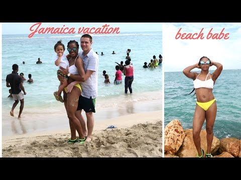 VLOG: JAMAICA VACATION VLOG || HELLSHIRE BEACH || BODY AFTER BABY || FOOD