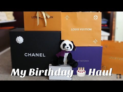 Birthday Haul | Stuart Weitzman, Louis Vuitton, Chanel