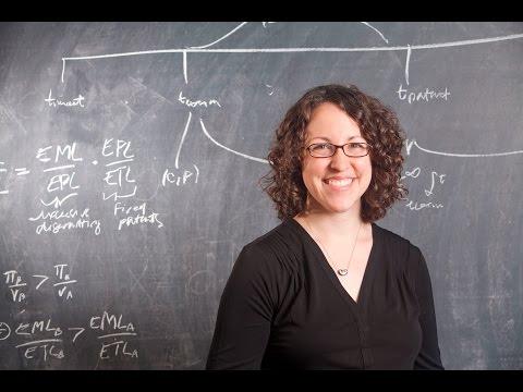 Economist Heidi Williams, 2015 MacArthur Fellow