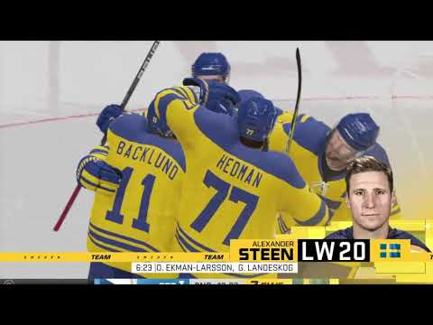 NHL 20 Best In The World Tournament - Czech Republic vs Sweden - Round 1