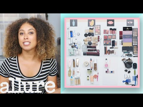 Every Product In My Beauty Collection: The Makeup Artist | Allure thumbnail