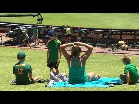 My first cricket match!  (South Africa vs. Pakistan, Johannesburg)