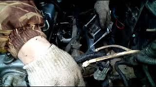 Замена двигателя ВАЗ лада 2114