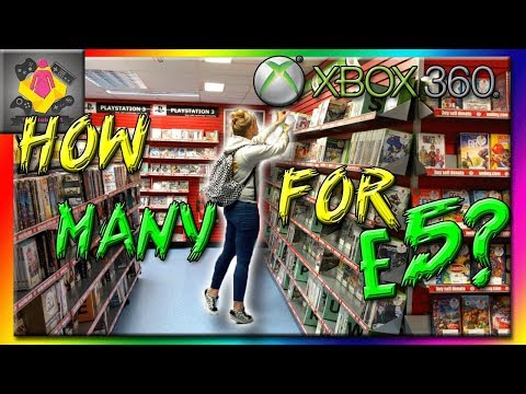 Xbox 360 Game Hunting £5 CEX CHALLENGE! [NEW]