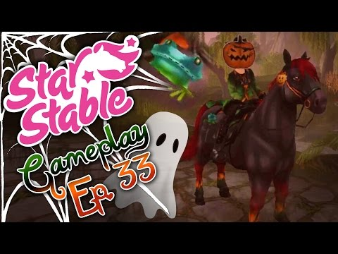 🎃 Star Stable Online Gameplay 🎃 ~ Episode 33: Ghost Hunting & Buying Frogs