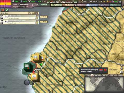Heart of Iron 3 republican Spain walkthrough part 4 (3 of 3)