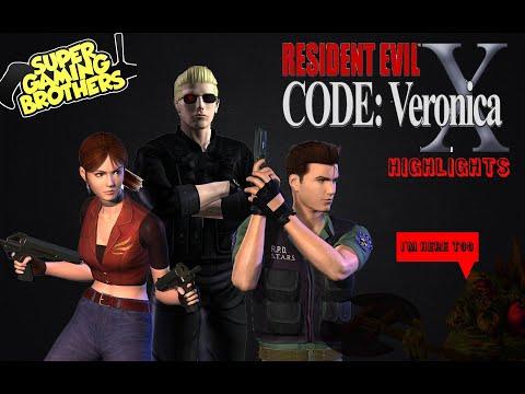 Super Gaming Bros (SGB) Resident Evil Code Veronica X - Highlights
