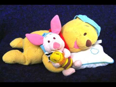 Winnie The Pooh Musical Lullaby Pillow Youtube