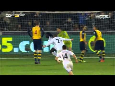 Bafetimbi Gomis - goals Swansea 2014/2015