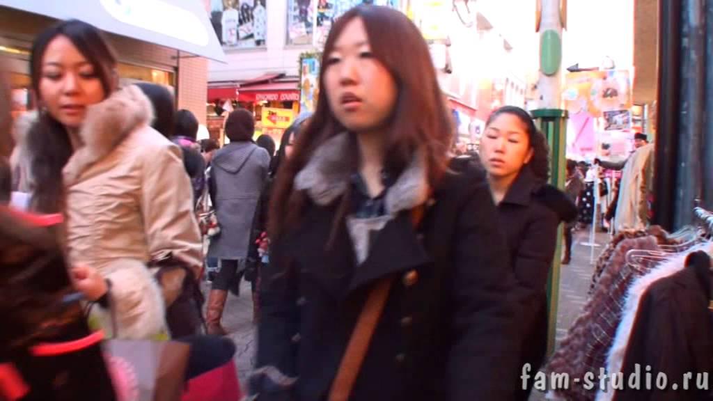 Япония, Токио.  Молодежная уличная мода