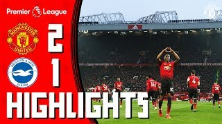 Highlights | Manchester United 2-1 Brighton | Pogba & Rashford seal the win | Premier League