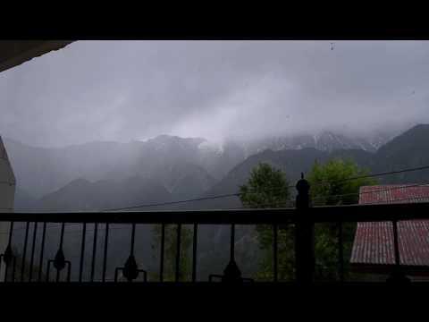 Timelapse of Dhauladar Range in Dharamshala, Himachal Pradesh, India