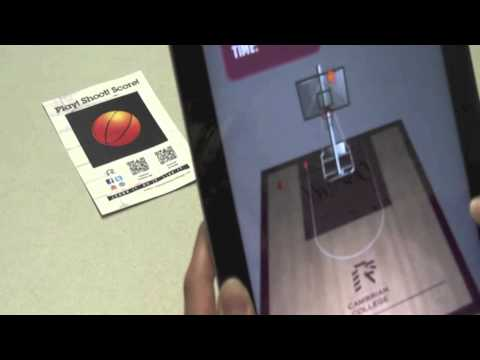 Augmented Reality How To - Basketball Game