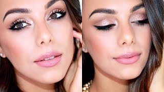 Soft Golden Glowing Makeup (Easy & Natural) | Annie Jaffrey