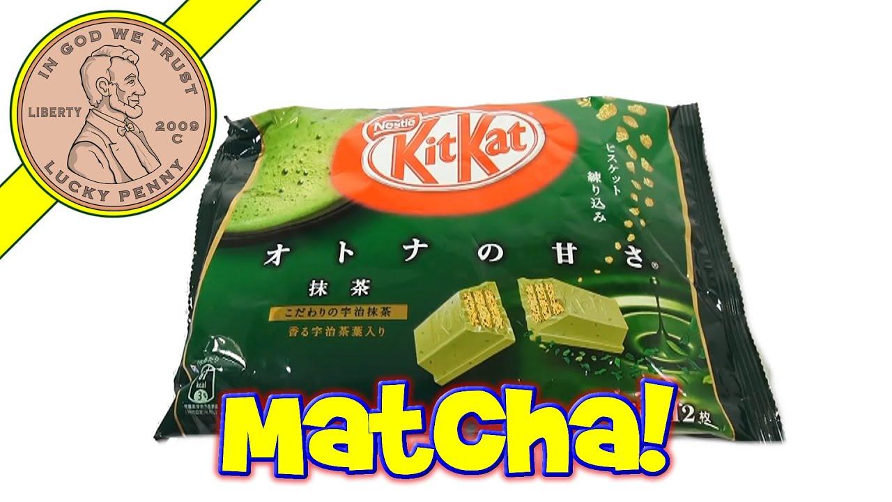 Kit Kat Matcha Candy Bars  Green Tea Flavor