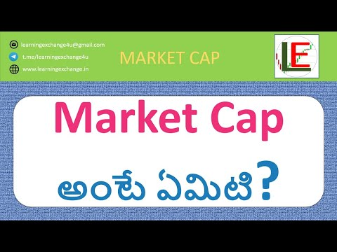 Learn all about Market Cap and about Large, Mid and Small cap in TELUGU