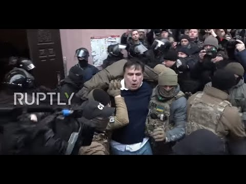 Ukraine: Saakashvili detained as supporters clash with police in Kiev