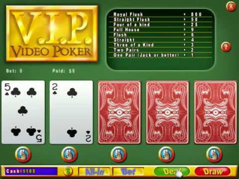 Video Poker for PC and Mac (Webfoot Technologies, Inc.)