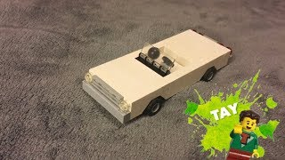 Lego Cadillac / Chevy / Ford Classic Speed Champions Lowrider Car (Episode 26) Moc Monday