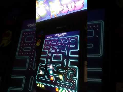 Arcade1Up Pac-Man Plus (Gameplay) wonkawonka! from TboneNY10