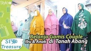 Belanja Baju Gamis Syar'i Couple Ibu & Anak di Tanah Abang untuk Lebaran Ramadan 2019